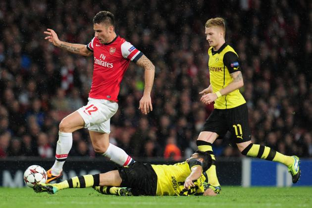 Borussia Dortmund vs. Arsenal: 6 Things We Learned