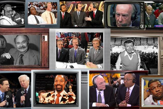 The 25 Greatest NBA Announcers of All Time