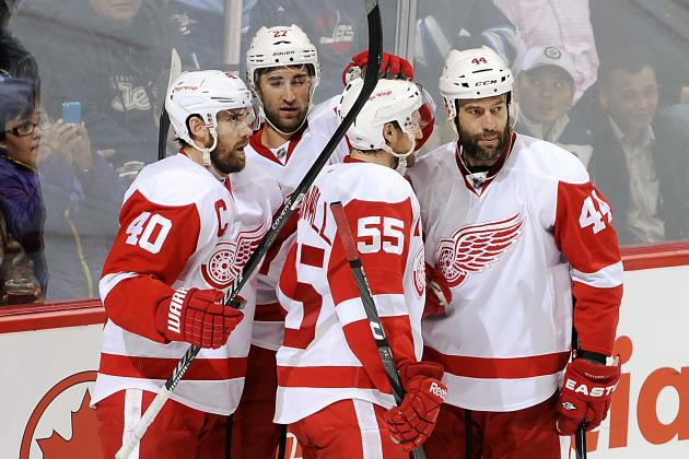 The Top 5 Highlights in Detroit Red Wings' 2013-14 Season so Far