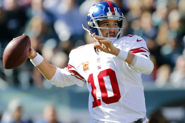 New York Giants' 10 Biggest Developments in the Season's 1st Half