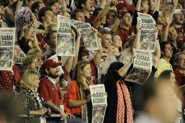 Alabama vs. Florida State: Way Too Early BCS Championship Preview