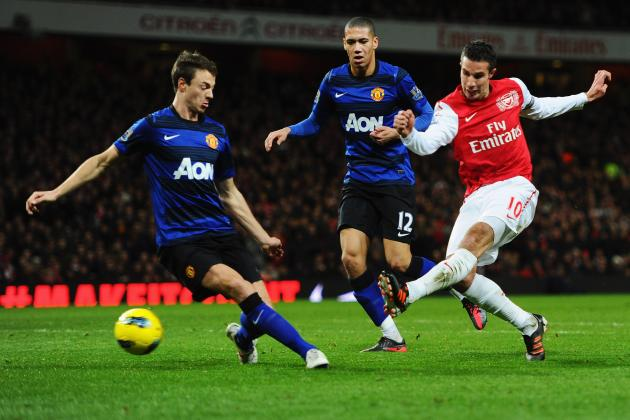 10 Greatest Goals from Manchester United vs. Arsenal Clashes