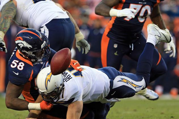 Denver Broncos vs. San Diego Chargers: 5 Storylines to Watch