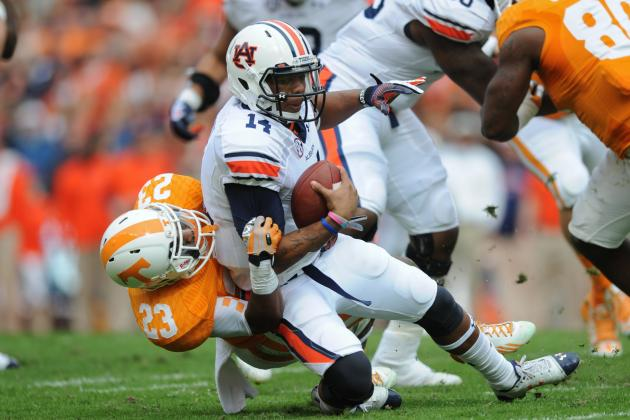 Auburn vs. Tennessee: 10 Things We Learned in Volunteers' Loss