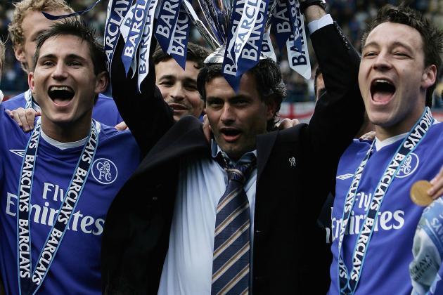 Jose Mourinho's Chelsea 2013-14 vs. 2005-06