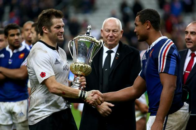 International Rugby Power Rankings After Opening Autumn Internationals