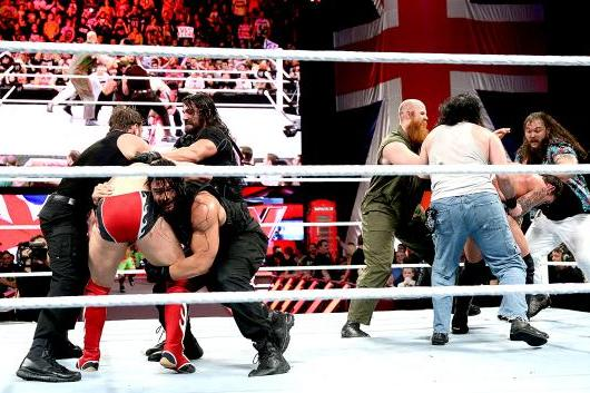 WWE Raw Results: Winners, Report Card and Highlights from Nov. 11