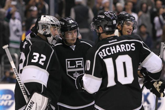 Los Angeles Kings' 5 Most Impressive Stats Early in 2013-14