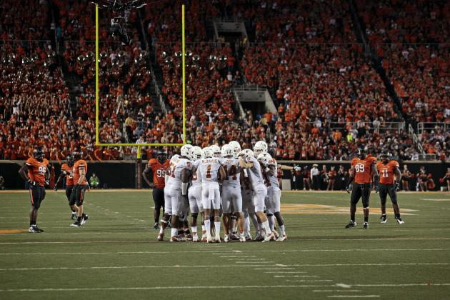 Texas Longhorns vs. Oklahoma State Cowboys: Complete Game Preview
