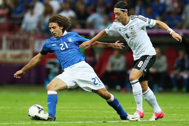 5 Things Arsenal's Mesut Ozil Does Better Than Andrea Pirlo