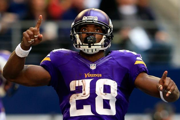 Highlighting the 8 Best Plays of Adrian Peterson's Minnesota Vikings Career