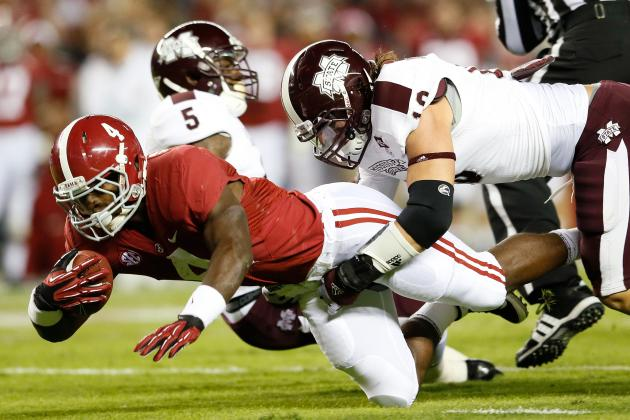 Alabama Crimson Tide vs. Mississippi State Bulldogs Complete Game Preview