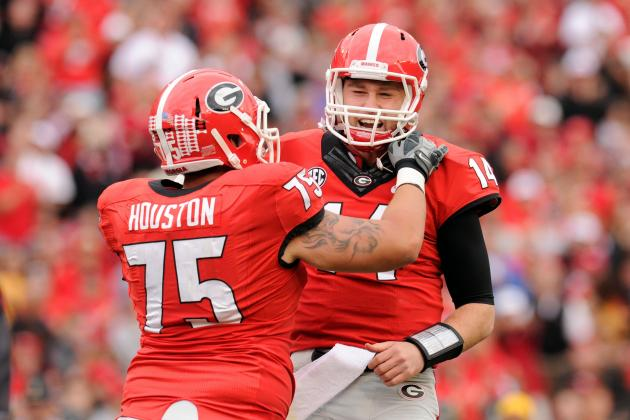 Georgia Football: What Are Realistic Expectations for Hutson Mason in 2014?