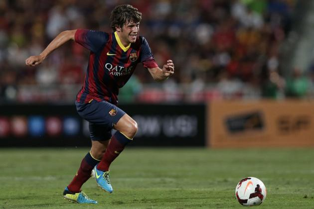 Barcelona: A Scouting Report on Manchester United Target Sergi Roberto