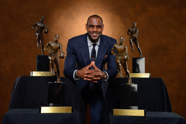 Ranking the 10 Best MVP Seasons in NBA History