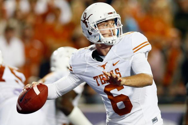 College Football Week 12 Picks: Oklahoma State Cowboys vs. Texas Longhorns