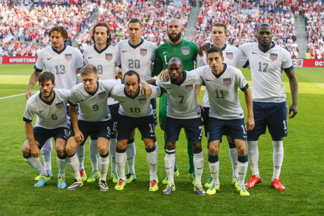 How USA Will Line Up Against Scotland