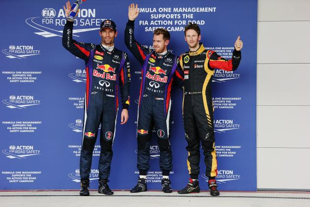 United States F1 Grand Prix 2013: Results, Times for Practice and Qualifying
