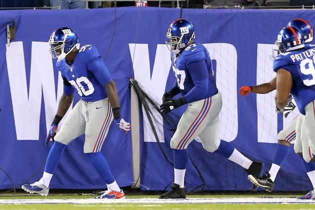 Green Bay vs. NY Giants: Full Roster Report Card Grades for New York