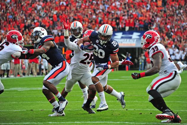 Georgia vs. Auburn: 10 Things We Learned in Tigers' Win