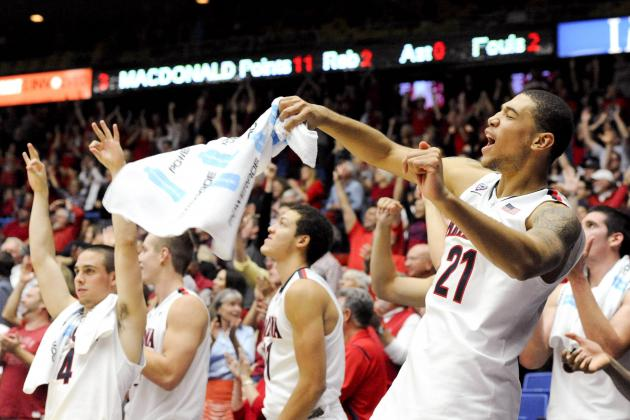 Arizona Basketball: Way-Too-Early Grades for Wildcats Starters