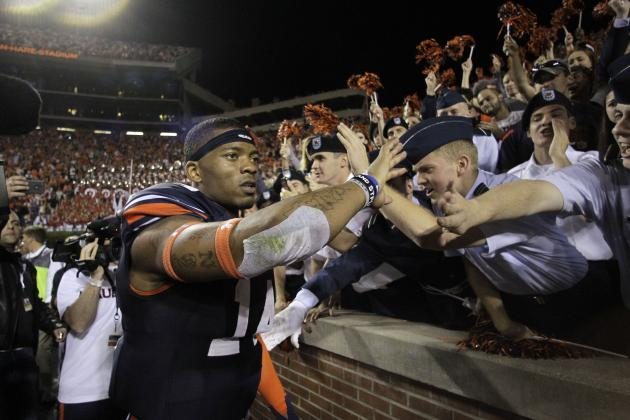 Auburn vs. Georgia 2013 and the 10 Best Finishes in SEC History