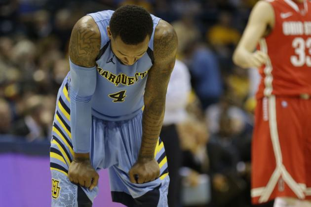 2013 NCAA Tournament Teams Least Likely to Be Dancing in 2014