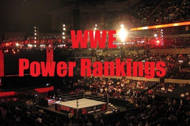 WWE Power Rankings for 11/18/2013