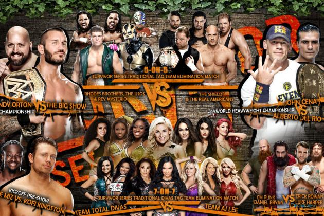 WWE Survivor Series 2013: GSM's Pick, Preview and Potential for Each Match