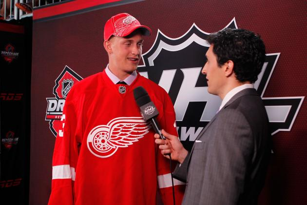 Projecting Top-End Potential for Detroit Red Wings' Best Prospects