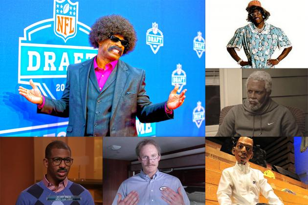 15 Hilarious Athlete Alter Egos