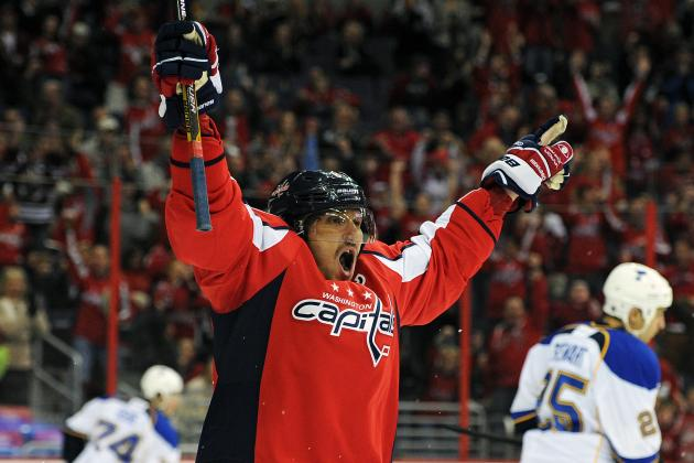 The Washington Capitals' 5 Best Goals so Far in 2013-14