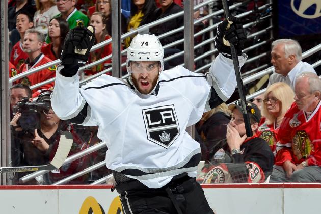 The Los Angeles Kings' 5 Best Goals so Far in 2013-14