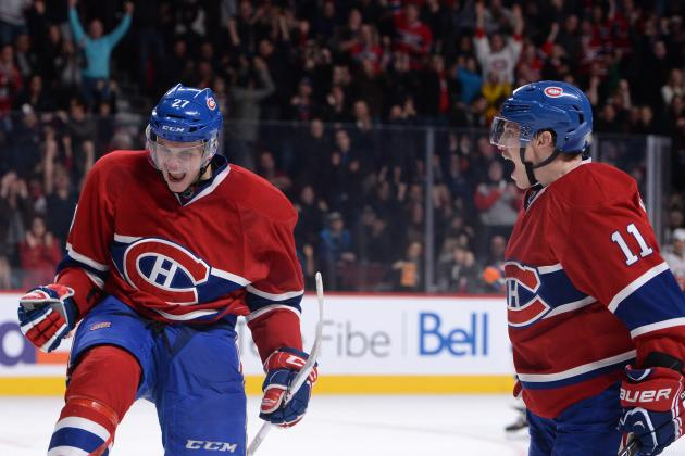 The Montreal Canadiens' 5 Best Goals So Far in 2013-14