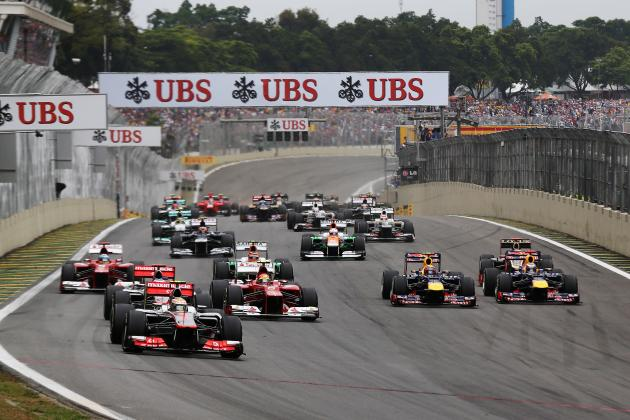 Formula 1 Brazilian Grand Prix Preview: Tyres, DRS, Weather, Session Times