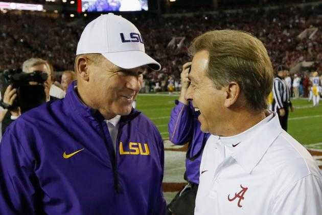 Grading Every SEC Head Coach Through 10 Games