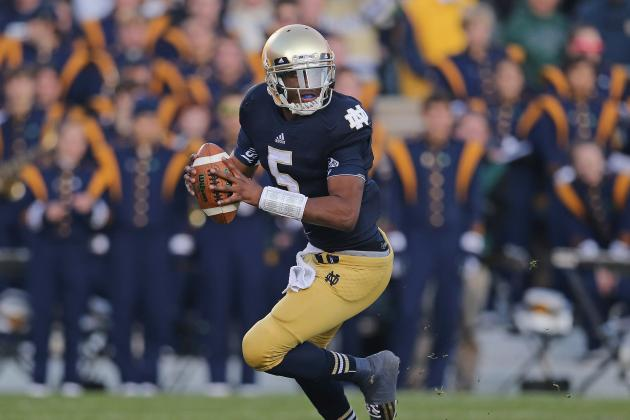 Breaking Down the Notre Dame Offense, BCS Hopes If Everett Golson Returns