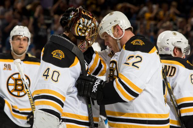 Report Card for the Boston Bruins at the Quarter Mark of the 2013-14 Season