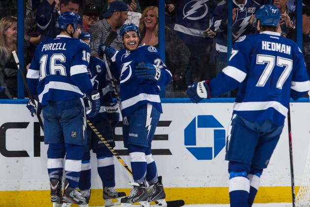 Tampa Bay Lightning's 5 Best Goals so Far in 2013-14