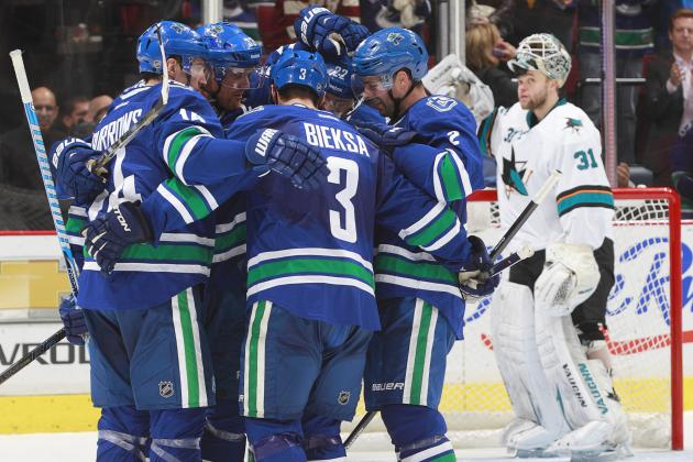 The Vancouver Canucks' 5 Best Goals so Far in 2013-14