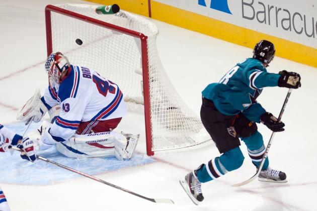 The San Jose Sharks' 5 Best Goals So Far in 2013-14