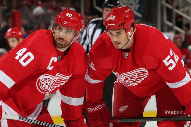 Detroit Red Wings' 5 Most Influential Players So Far in 2013-14