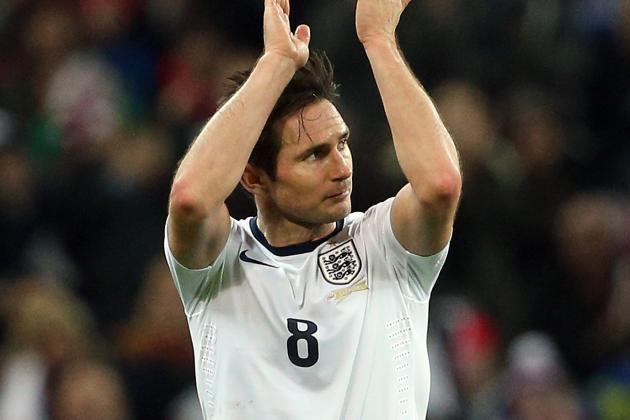 Highs and Lows of Chelsea Midfielder Frank Lampard's England Career