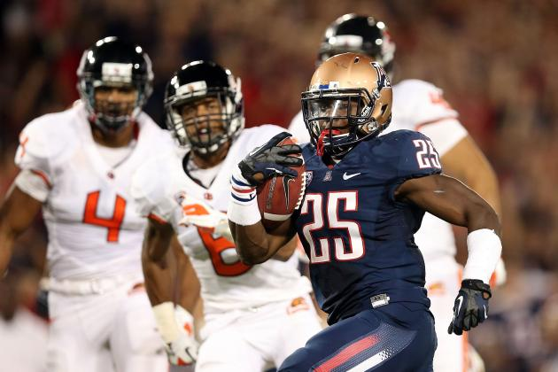 Arizona Wildcats: Where Ka'Deem Carey Will Rank Among School's Greatest