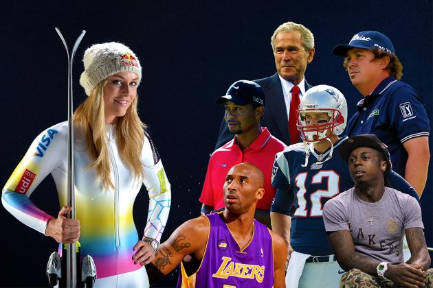 17 Celebrities Who Love Lindsey Vonn