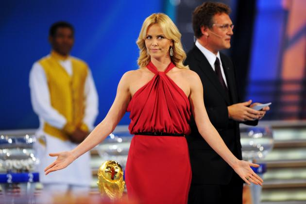 Charlize Theron, Heidi Klum and Celebrity Stars of World Cup Draws Past