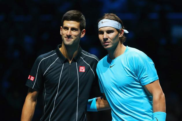 Final 2013 Grades for the  ATP Top 20