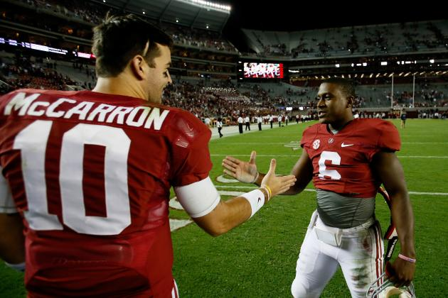 Chattanooga vs. Alabama: 10 Things We Learned from Tide's Win
