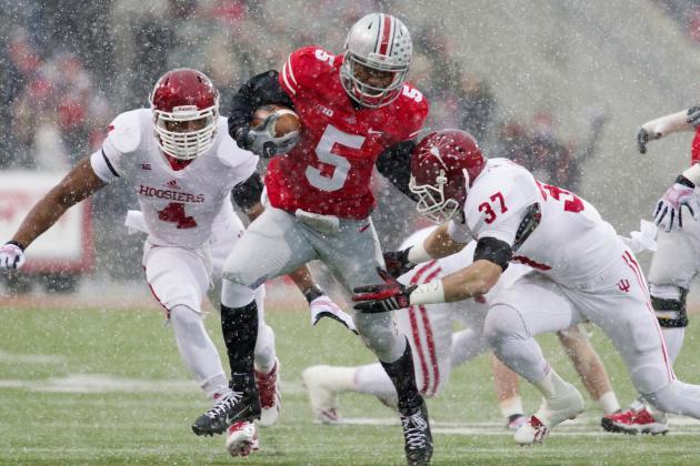 Indiana vs. Ohio State: 10 Things We Learned in Buckeyes' Win