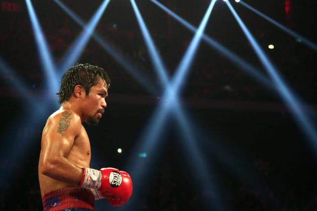 Manny Pacquiao vs. Brandon Rios: Most Dazzling Images from Full Fight Card